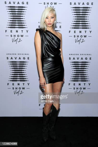 In this image released on October 1 Soo Joo Park attends Rihanna's Savage X Fenty Show Vol 2 presented by Amazon Prime Video at the Los Angeles...