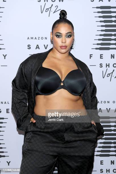 In this image released on October 1 Tabria Majors attends Rihanna's Savage X Fenty Show Vol 2 presented by Amazon Prime Video at the Los Angeles...
