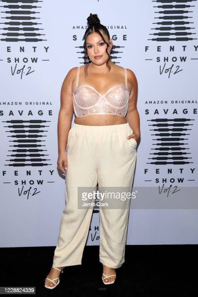 In this image released on October 1 Vanessa Romo attends Rihanna's Savage X Fenty Show Vol 2 presented by Amazon Prime Video at the Los Angeles...