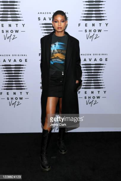 In this image released on October 1 Willow Smith attends Rihanna's Savage X Fenty Show Vol 2 presented by Amazon Prime Video at the Los Angeles...