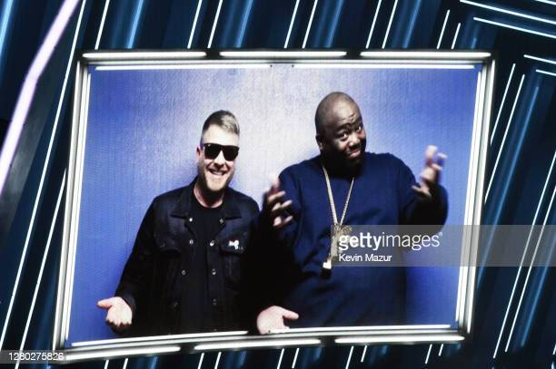 In this image released on October 14 Billboard Change Maker Award honoree Killer Mike is seen on video at the 2020 Billboard Music Awards broadcast...