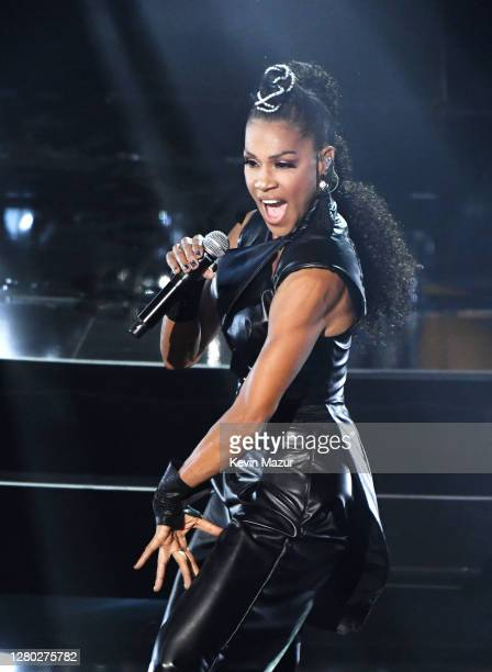 In this image released on October 14 Cindy Herron of En Vogue performs onstage at the 2020 Billboard Music Awards broadcast on October 14 2020 at the...