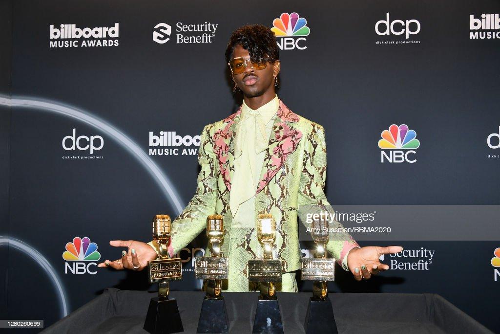 2020 Billboard Music Awards - Backstage : News Photo