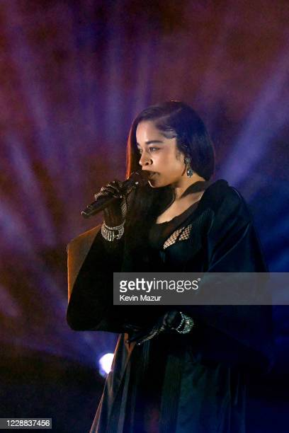 In this image released on October 2 Ella Mai performs onstage during Rihanna's Savage X Fenty Show Vol 2 presented by Amazon Prime Video at the Los...