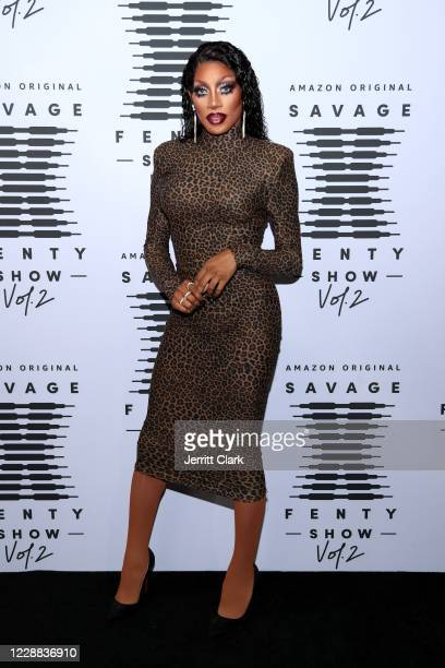 In this image released on October 2, Jaida Essence Hall attends Rihanna's Savage X Fenty Show Vol. 2 presented by Amazon Prime Video at the Los...