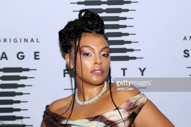 In this image released on October 2, Paloma Elsesser attends Rihanna's Savage X Fenty Show Vol. 2 presented by Amazon Prime Video at the Los Angeles...