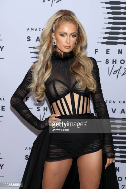In this image released on October 2, Paris Hilton attends Rihanna's Savage X Fenty Show Vol. 2 presented by Amazon Prime Video at the Los Angeles...