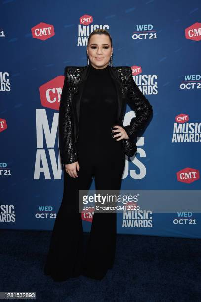 In this image released on October 21, Gabby Barrett attends the 2020 CMT Awards broadcast on Wednesday October 21, 2020 in Nashville, Tennessee.