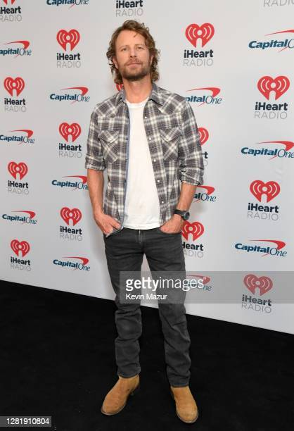 In this image released on October 23 Dierks Bentley attends the 2020 iHeartCountry Festival Presented by Capital One at The Steel Mill in Nashville...