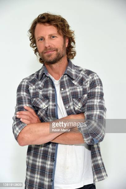 In this image released on October 23 Dierks Bentley poses for a portrait for the 2020 iHeartCountry Festival Presented by Capital One at The Steel...
