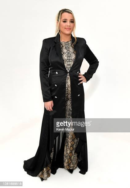 In this image released on October 23 Gabby Barrett poses for a portrait for the 2020 iHeartCountry Festival Presented by Capital One at The Steel...