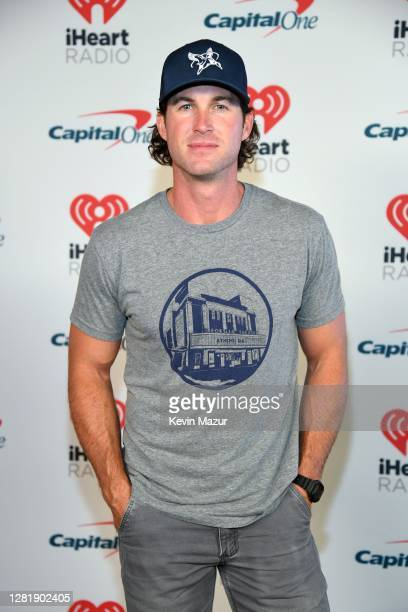 In this image released on October 23 Riley Green attends the 2020 iHeartCountry Festival Presented by Capital One at Steel Mill in Nashville Tennessee
