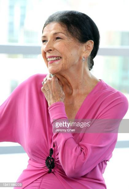 In this image released on September 18 Alanis Obomsawin accepts the Jeff Skoll Award in Impact Media supported by Participant Media during the TIFF...