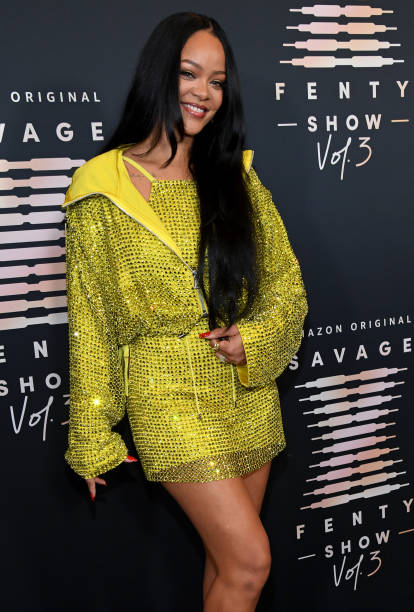 CA: Rihanna's Savage X Fenty Show Vol. 3 presented by Amazon Prime Video - Step and Repeat