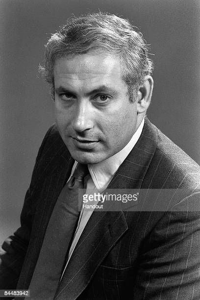 In this Israeli Government Press Office file photo, Member of Knesset Benjamin Netanyahu poses for an official portrait December 12, 1988 in...