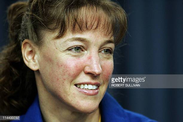 In this July 17 2006 file photo astronaut Lisa Nowak answers questions during a press conference at the Kennedy Space Center in Florida A US judge on...
