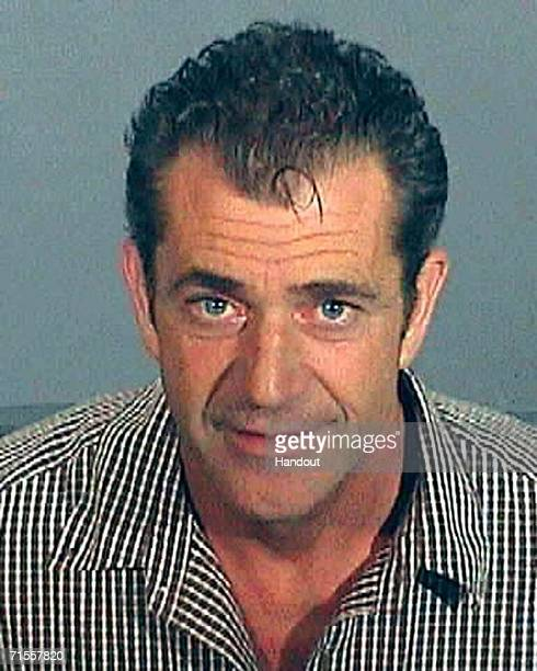 In this Los Angeles County Sheriff's Department booking photo actor Mel Gibson has his police mug shot taken July 28 2006 in Los Angeles California...