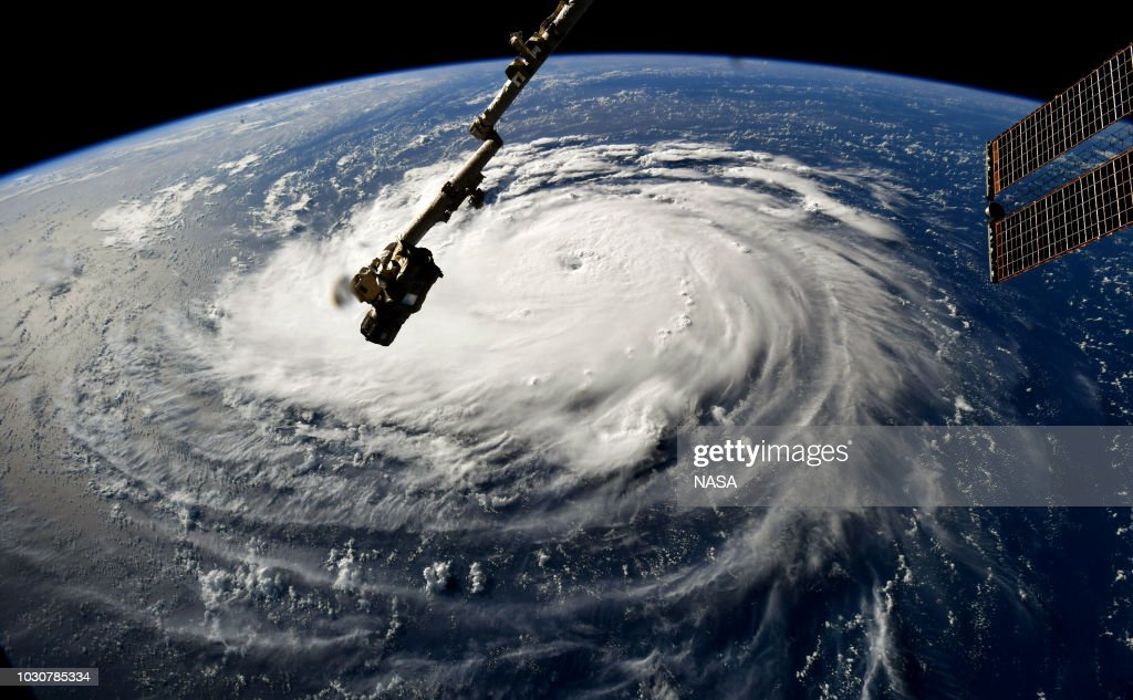 Hurricane Florence Likely To Strike East Coast With Damaging Effect : News Photo