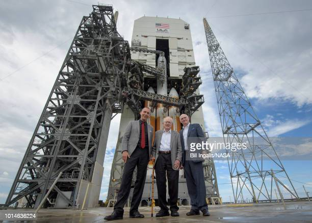 In this NASA handout NASA Associate Administrator for the Science Mission Directorate Thomas Zurbuchen left American solar astrophysicist and...