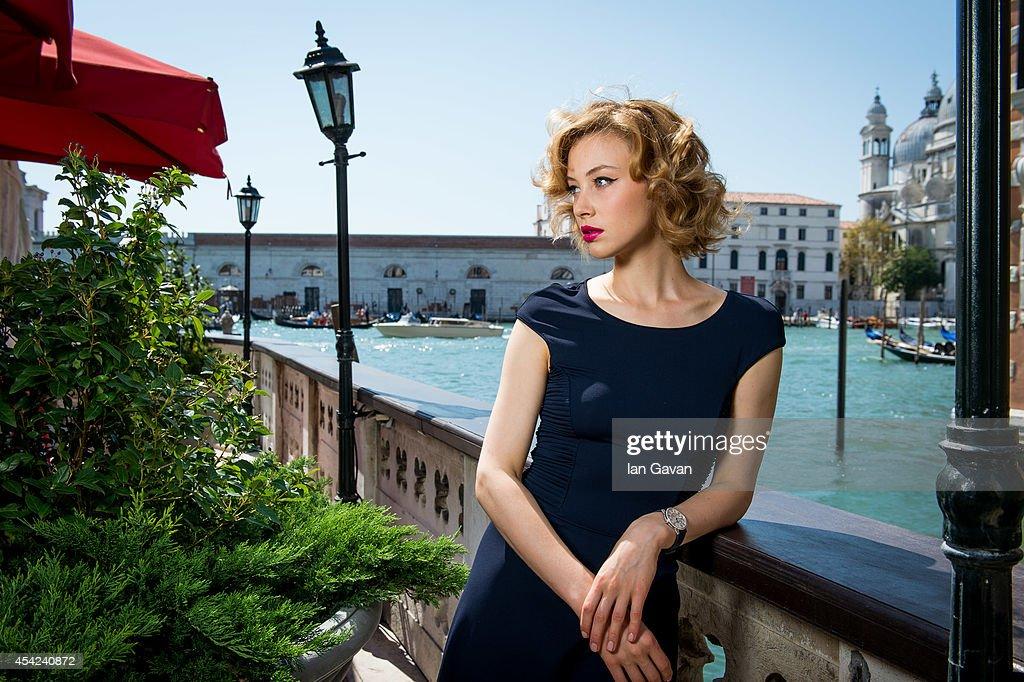 Sarah Gadon Portrait At 70th Venice Film Festival - Jaeger-LeCoultre Collection : News Photo