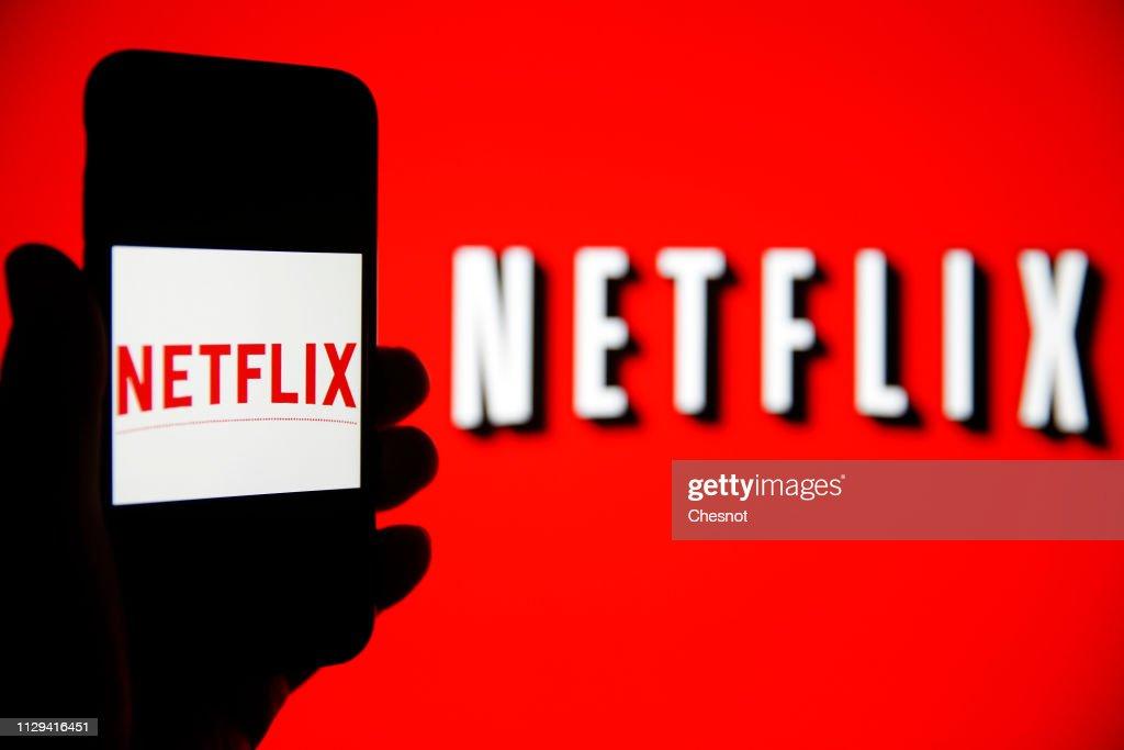 Netflix : Illustration : ニュース写真