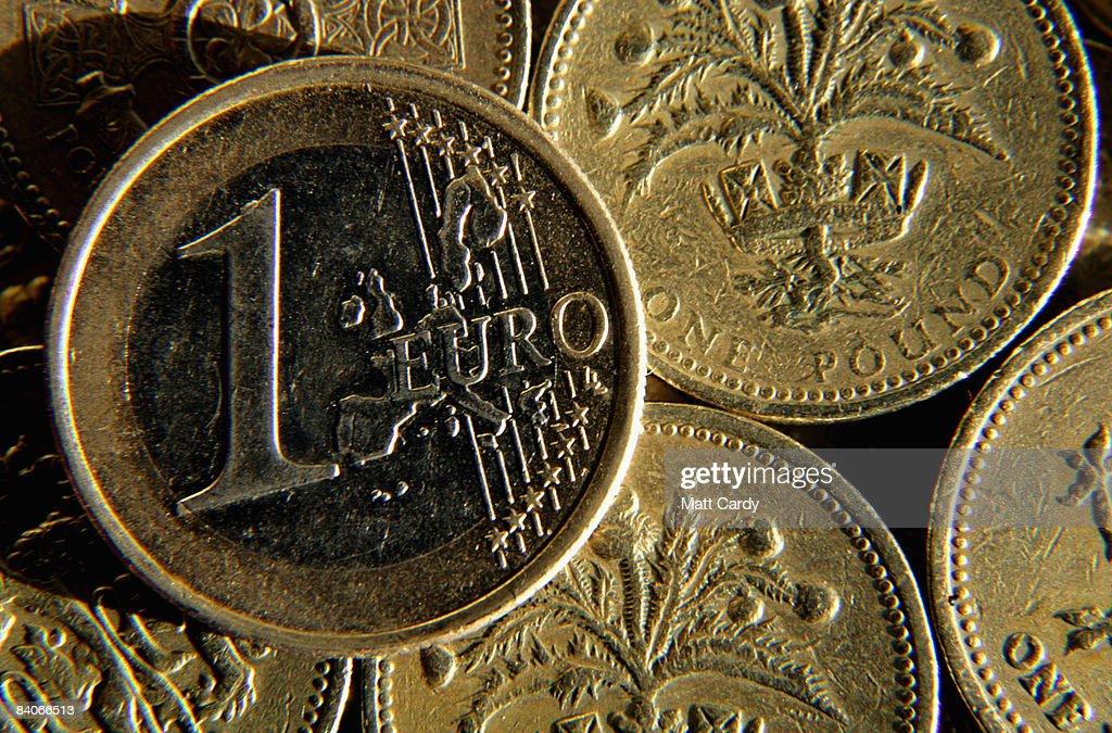 Pound Hits Record Euro Photos Images Getty Photo Illustration British