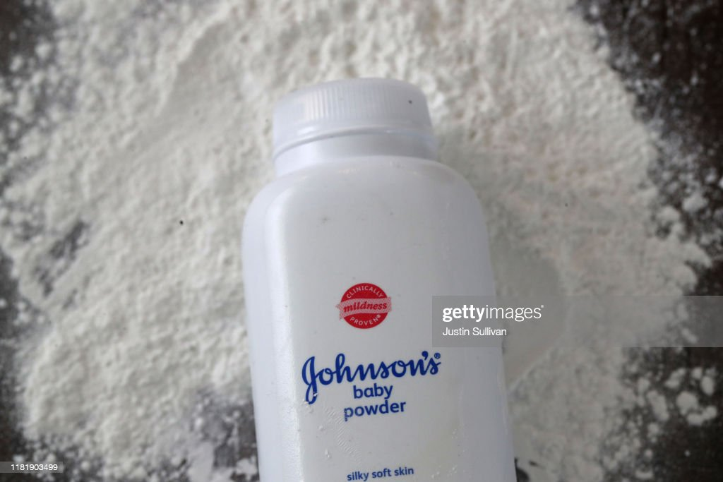 Johnson & Johnson Voluntarily Recalls Baby Powder For Asbestos Contamination : News Photo