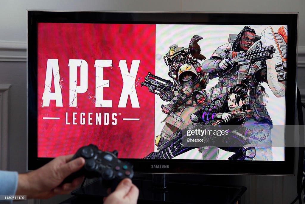 FRA: Apex Legends Video Game: Illustration In Paris