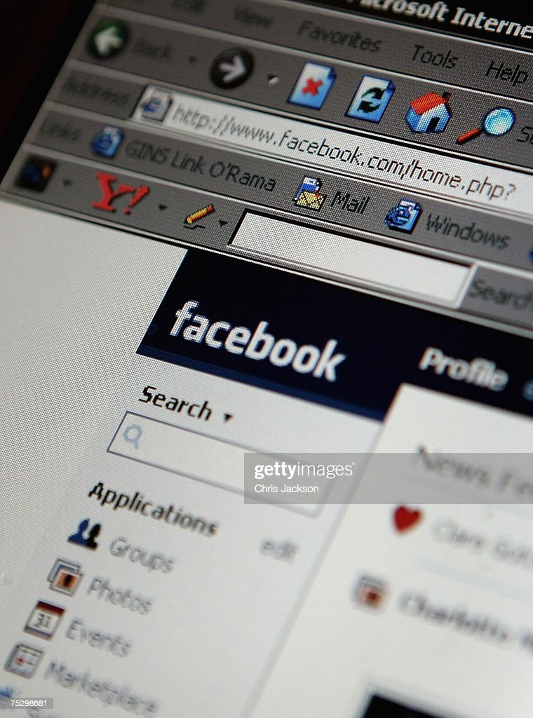 In this photo illustration a lap top is logged onto the social networking site Facebook on July 10, 2007 in London, England. Facebook has been rapidly catching up on MySpace as the premier social networking website and as of July 2007 was the secondmost visited such site on the World Wide Web. Started by 22 year old Harvard dropout Mark Zuckerberg, the website is responsible for 1% of all internet traffic and is the sixth most visited site in the USA.