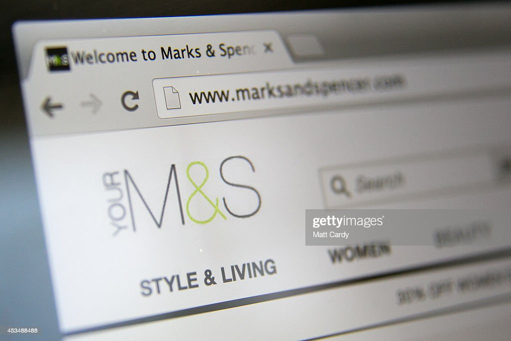 In this photo illustration a laptop displays the Marks and Spencer website on August 11, 2014 in Bristol, United Kingdom. This week marks the 20th anniversary of the first online sale. Since that sale - a copy of an album by the artist Sting - online retailing has grown to such an extent that it is now claimed that 95 percent of the UK population has shopped online and close to one in four deciding to shop online each week.