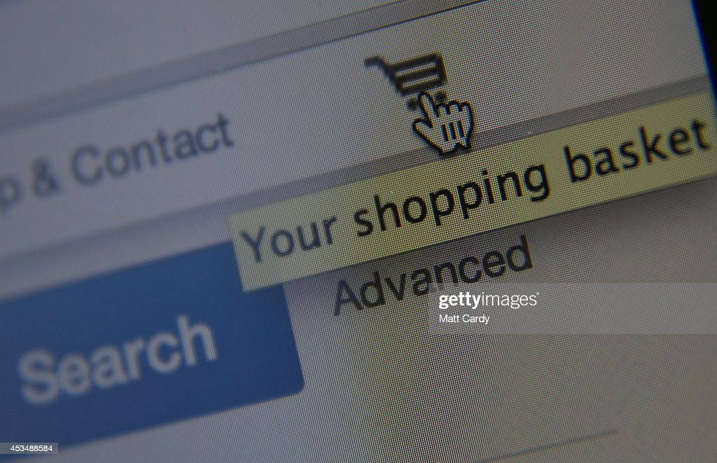 In this photo illustration a laptop displays the shopping basket on the eBay website on August 11, 2014 in Bristol, United Kingdom. This week marks the 20th anniversary of the first online sale. Since that sale - a copy of an album by the artist Sting - online retailing has grown to such an extent that it is now claimed that 95 percent of the UK population has shopped online and close to one in four deciding to shop online each week.