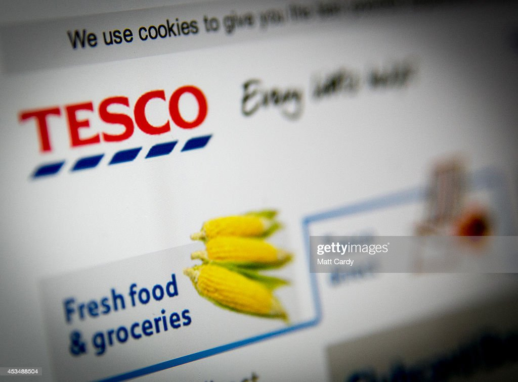 In this photo illustration a laptop displays the Tesco website on August 11, 2014 in Bristol, United Kingdom. This week marks the 20th anniversary of the first online sale. Since that sale - a copy of an album by the artist Sting - online retailing has grown to such an extent that it is now claimed that 95 percent of the UK population has shopped online and close to one in four deciding to shop online each week.