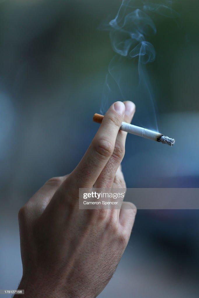 Australia Tobacco Tax Increase To Raise AUD$5bn Over Four Years : News Photo