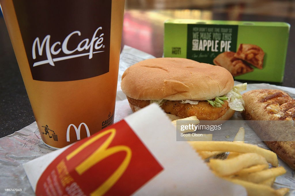 McDonald's To Alter Dollar Menu With Higher Priced Items : News Photo