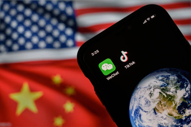 CHN: China's WeChat And TikTok Face Trump Bans In The U.S