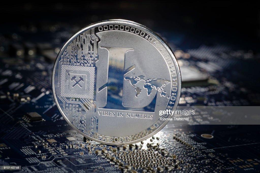 Cryptocurrency  Litcoin : News Photo