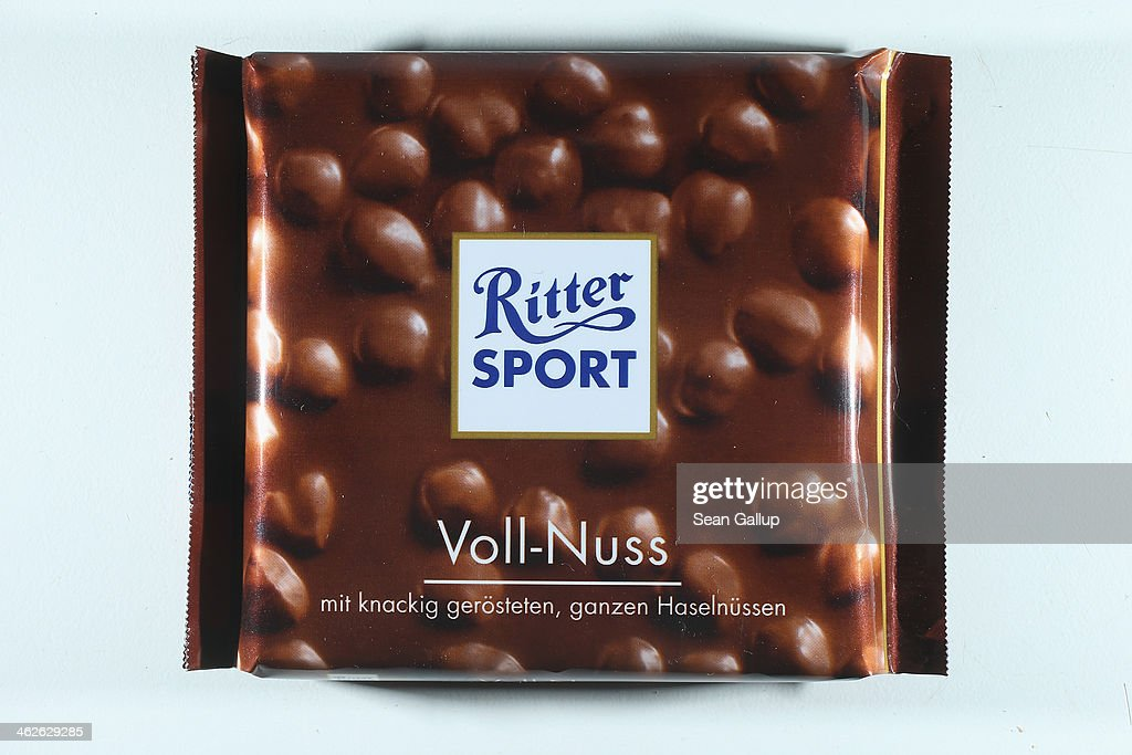 Ritter Sport Chocolates Fights Back In Court Case With Stiftung Warentest : News Photo