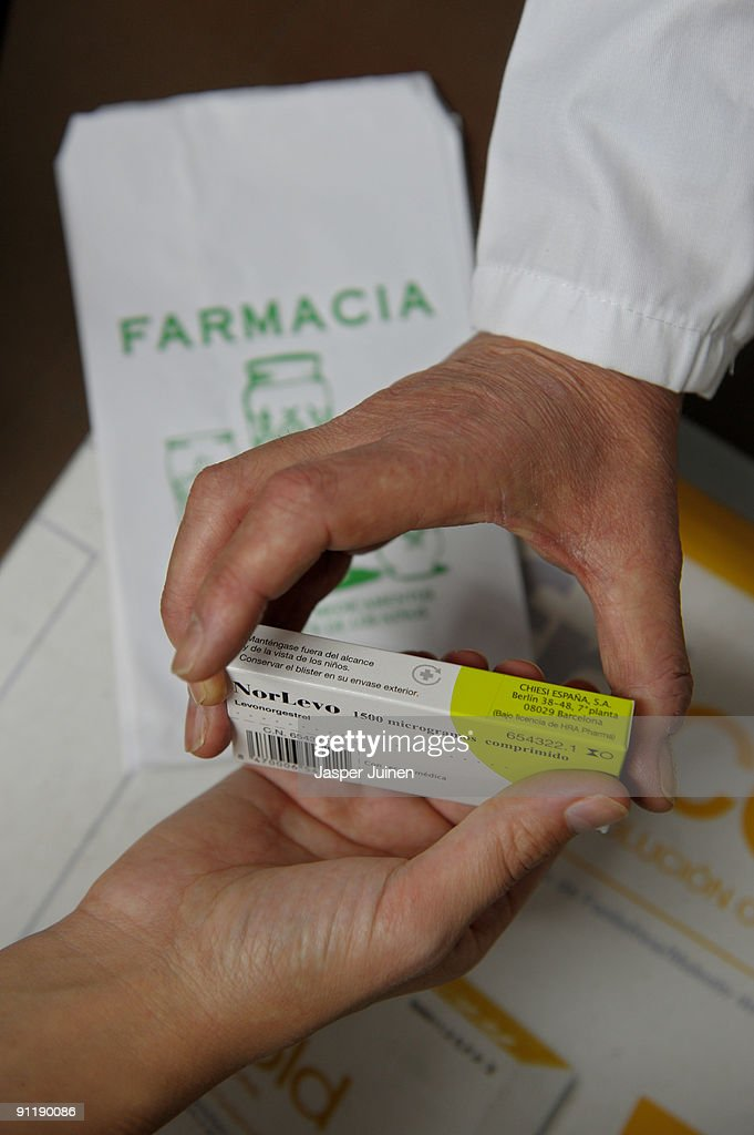 Morning After Pill Goes On Sale In Spain : News Photo