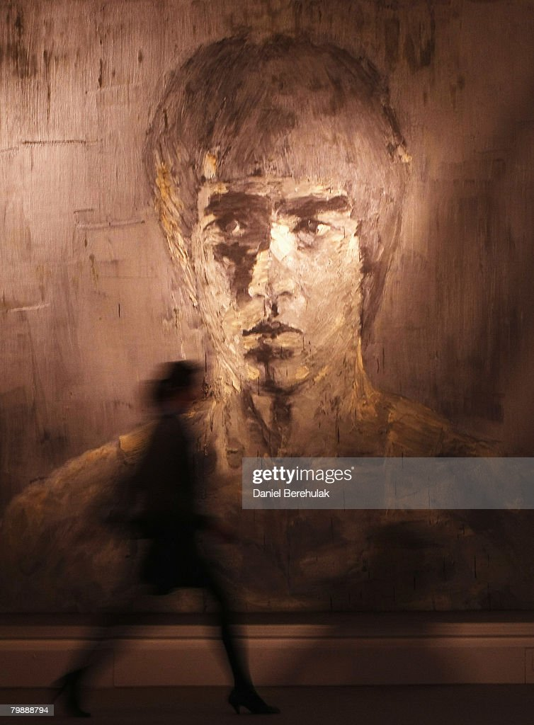 Sothebys Hold Record Breaking Contemporary Art Sale : ニュース写真