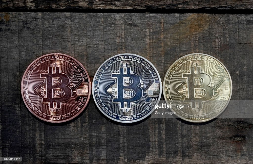 Bitcoin - Illustrations of Cryptocurrency : News Photo