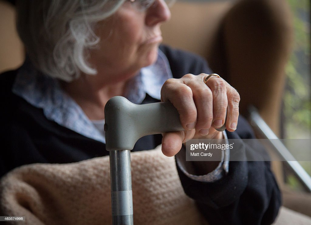 2015 General Election - Elderly Care : News Photo
