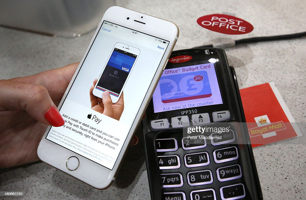 Apple Pay Launches In The UK : News Photo