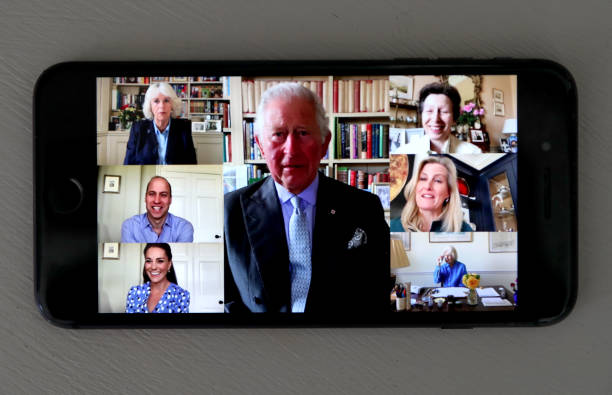 GBR: The Royal Family Pay Tribute To Nurses Across The Commonwealth