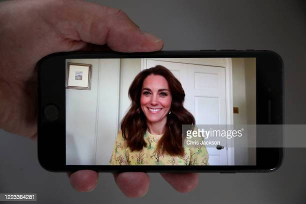 In this photo illustration Catherine Duchess of Cambridge launches her 'Hold Still' photography competition on May 07 2020 in London England Hold...