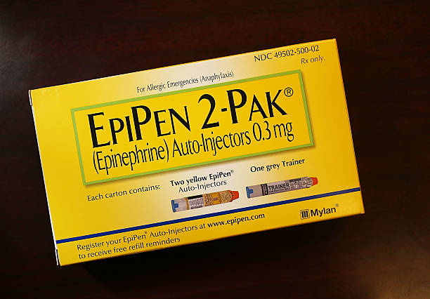 "a report on the epipen dispensed and the epinephrine drug Behind the epipen monopoly: lobbying muscle, flailing competition one dispensed epinephrine actual production of epipen syringes ""the drug inside."