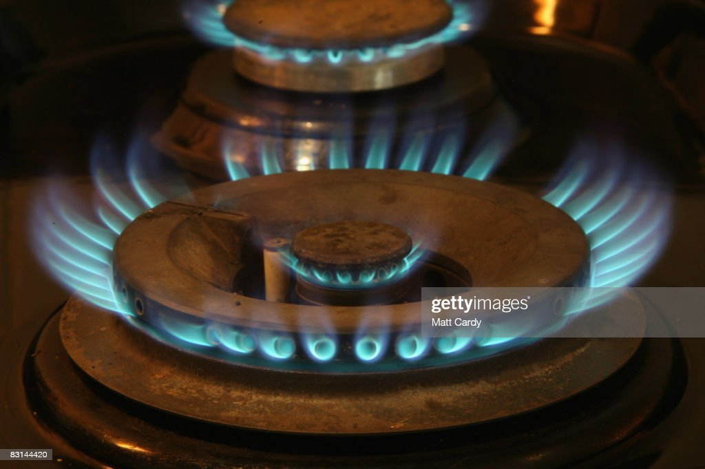 In this photo illustration gas burns on a burner on a domestic cooking appliance in a home on October 10 2008 in Bristol, England. The energy company regulator Ofgem has warned in a report published today that energy companies in the UK are not offering customers true competitiveness and are concerned that some consumers - such as those living in remote areas, or on pre-payment meters - had no choice but to pay more for their energy. The hard-hitting report coincides with a judicial review due to open in the High Court in which the UK Government is accused of failing in its legal duty to tackle fuel poverty among poorer households.