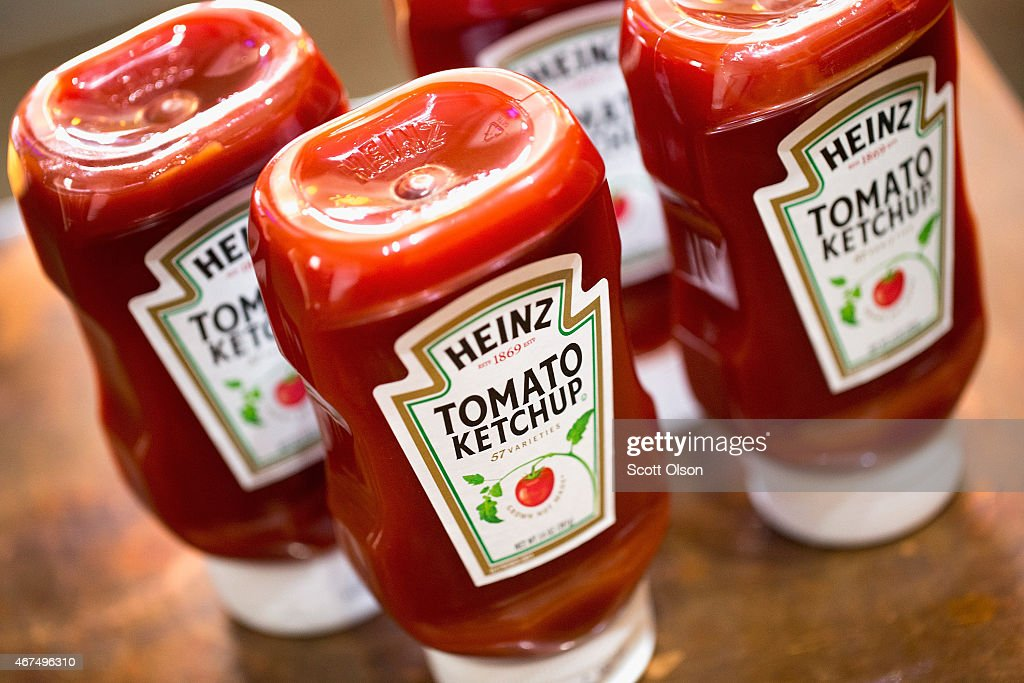 Food Giants Kraft And Heinz To Merge : News Photo