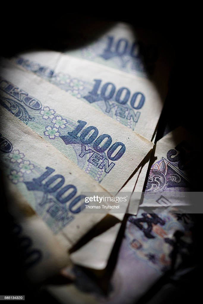 Janapese Currency Yen : News Photo