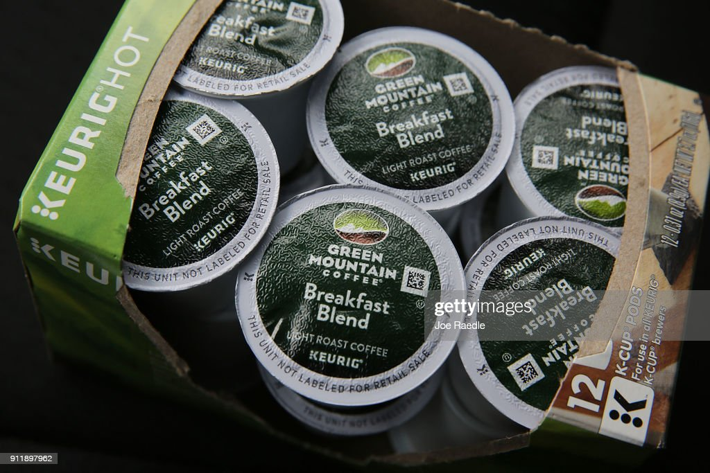 Kuerig Green Mountain To Buy Dr. Pepper Snapple : News Photo