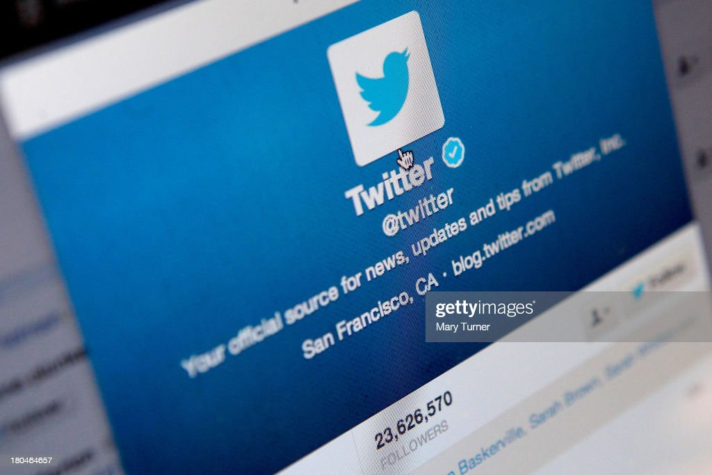 Twitter Announces Plan To Float On Stock Market : News Photo